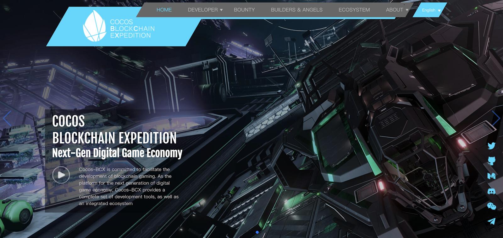 Taxa Network And Cocos-BCX Fuel Blockchain Game Development