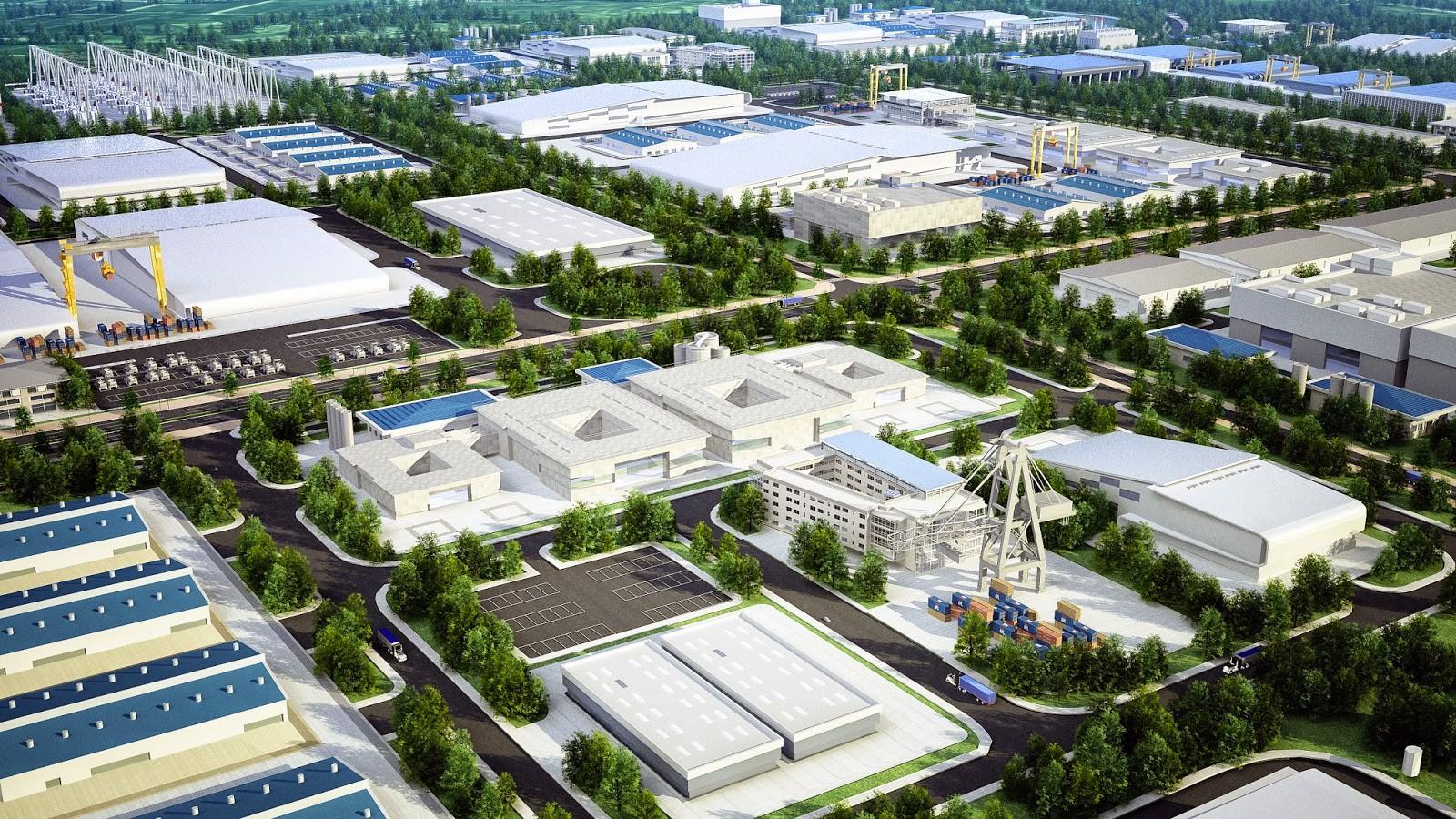 Vị trí Khu công nghiệp Cộng Hòa – Chí Linh