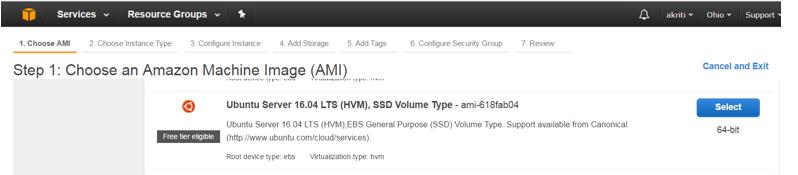 Create Virtual Machine on Amazon Web Services ( AWS ) 32