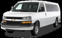 10-13 passenger shuttle van from Calgary to Sunshine Village