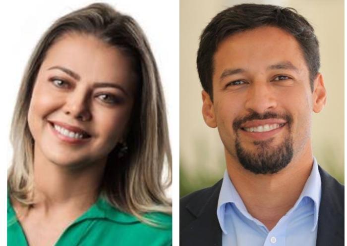 Leila do Vôlei e Rodrigo Cunha são dois dos rostos novos no Senado para a próxima legislatura (2019-2023)