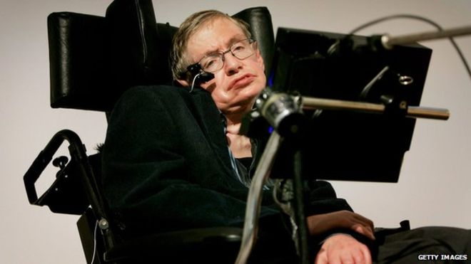 "Prof Stephen Hawking uses Intel's software to ""speak"" via a computer"