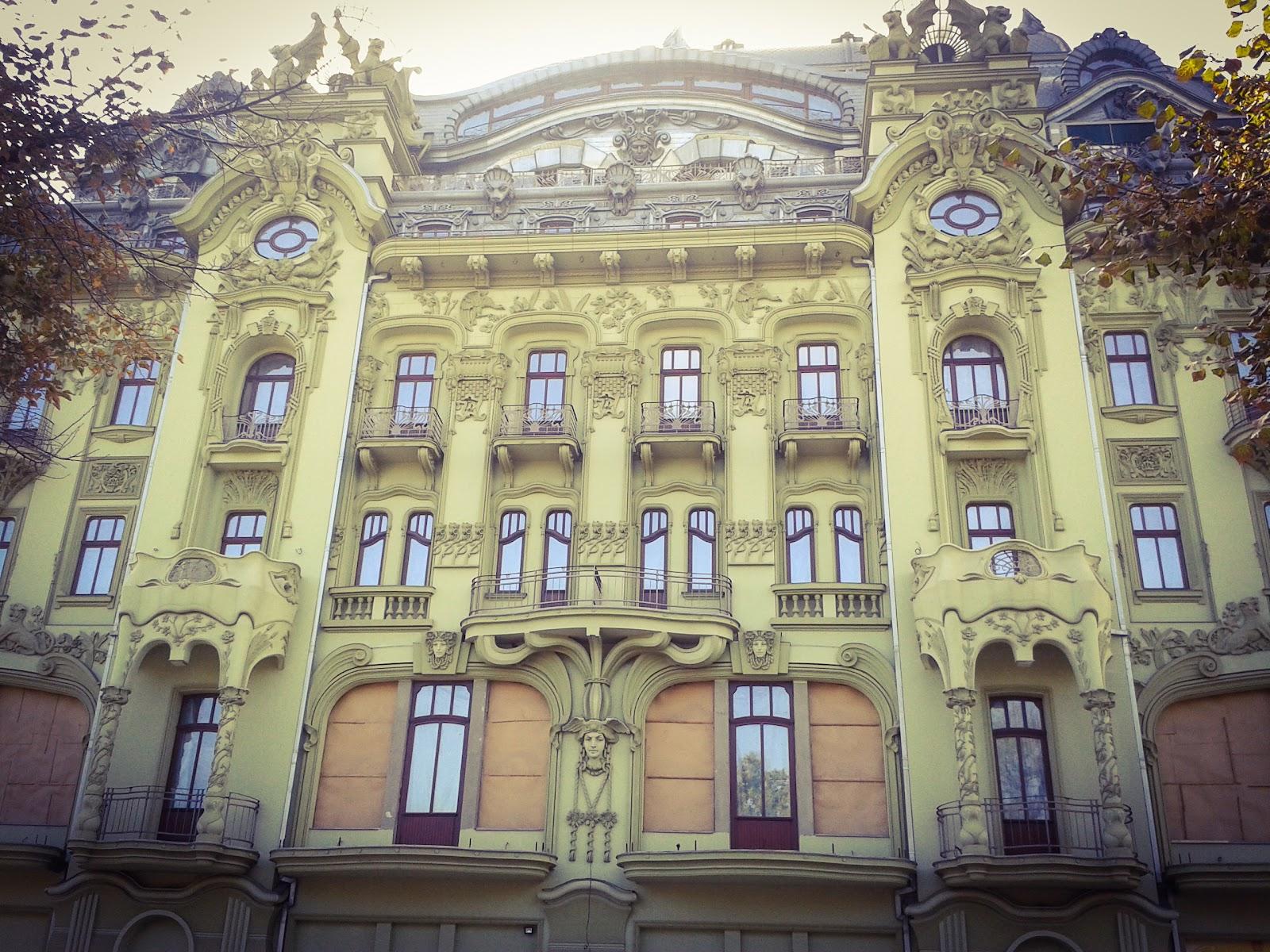 реконструйований готель в Одесі