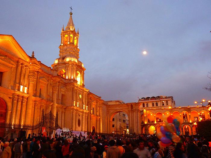 Arequipa es uno de los destinos que puedes visitar desde Moquegua