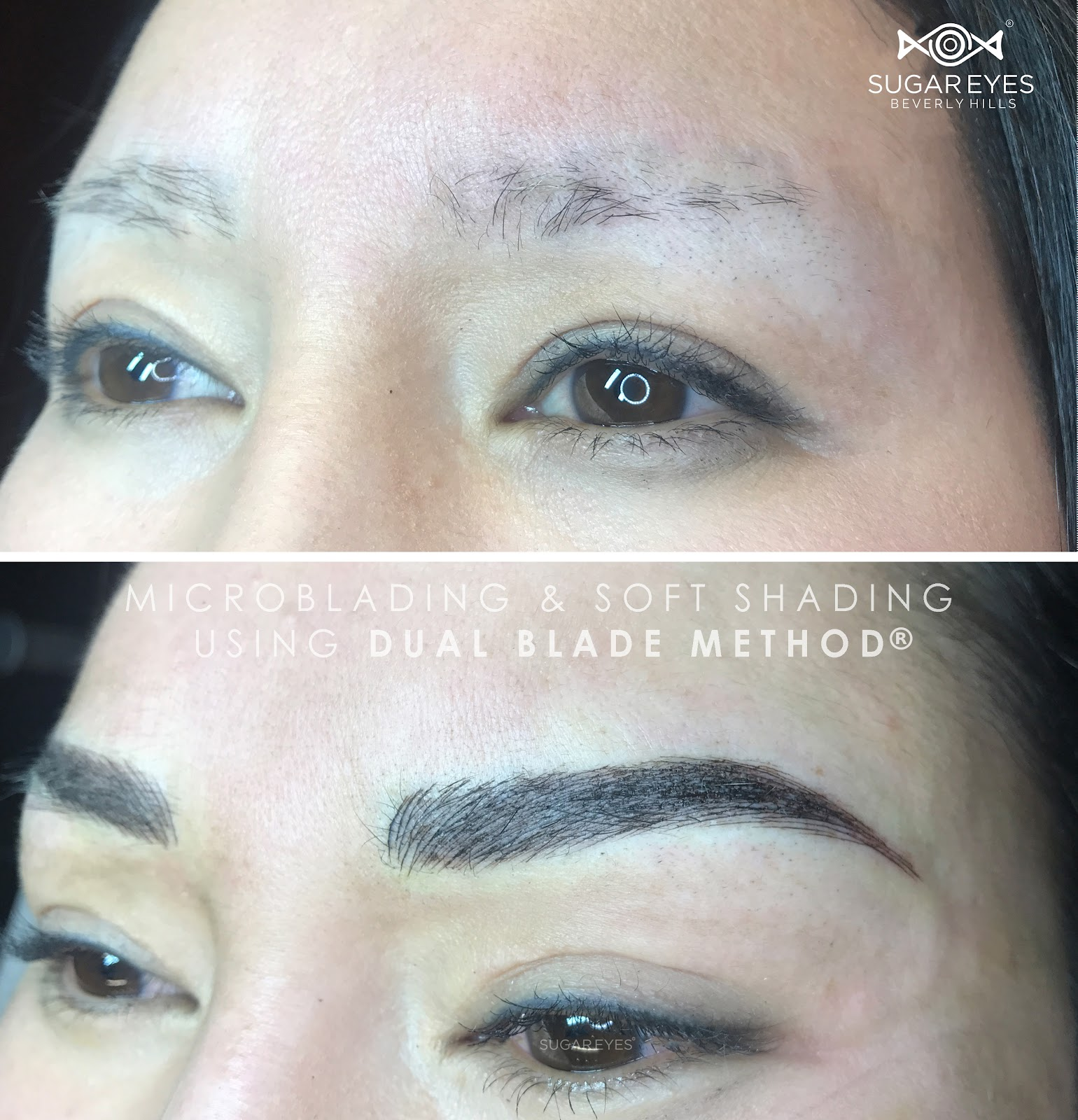 Microblading vs tattooing eyebrows