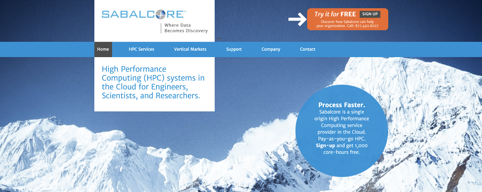 High Performance Computing System HPC Cloud Provider for Engineers, Scientists, and Researchers.