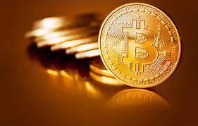Wallpaper blur, coins, gold, coins, bitcoin, bitcoin, btc images for  desktop, section hi-tech - download