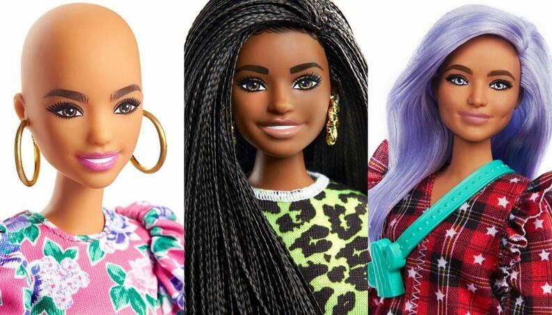 collage diversidad barbie 1