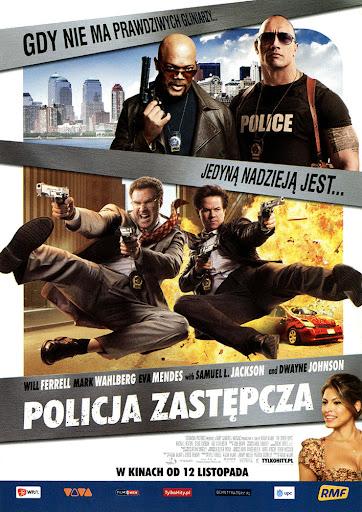 Przód ulotki filmu 'Policja Zastępcza'