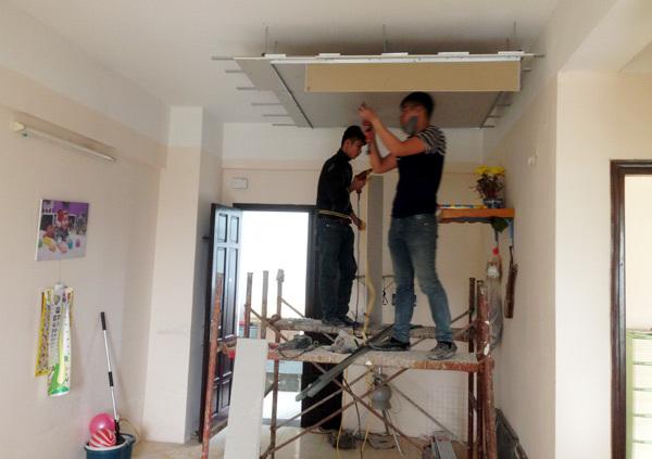 quy trình thợ sửa chữa nhà tại quận 12