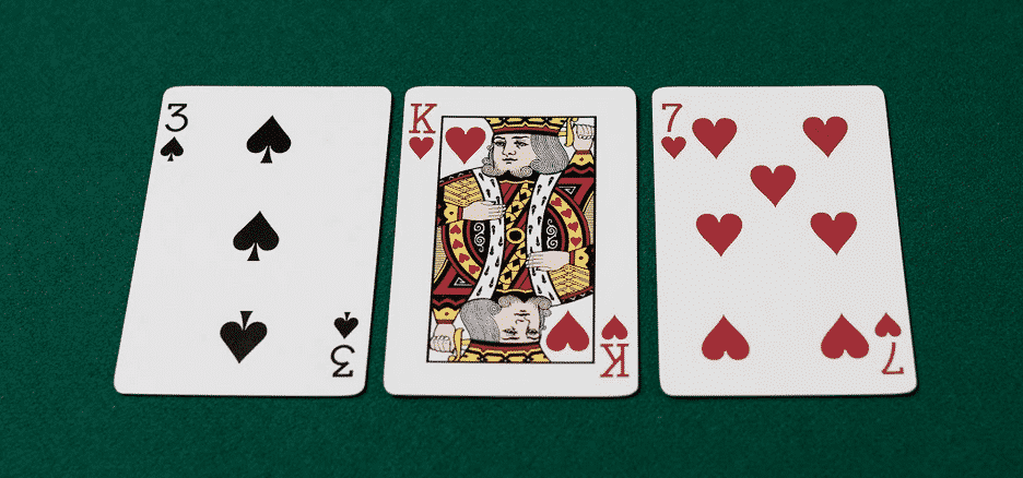 flop of three-king-seven, a good c-bet board for ace-king