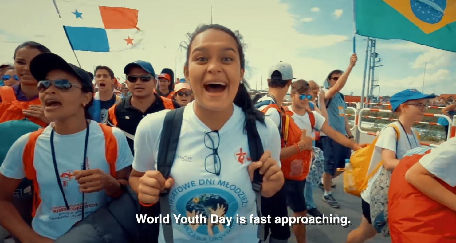 Sứ điệp Video của Đức Thánh Cha gửi giới trẻ trước Ngày Giới trẻ Thế giới 2019