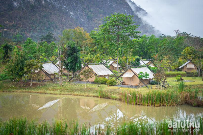 3. Lalamukha Tented Resort เขาใหญ่ นครราชสีมา