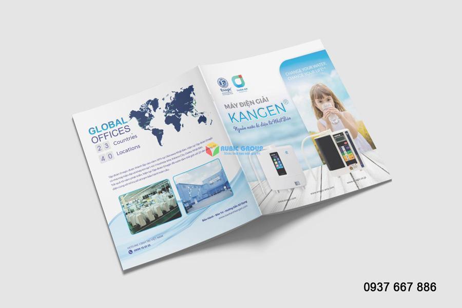 Mẫu thiết kế catalogue cơ bản