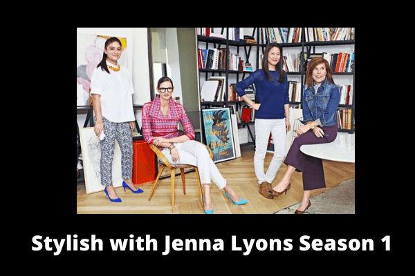 Stylish with Jenna Lyons Season 1 Poster