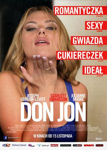 Przód ulotki filmu 'Don Jon'