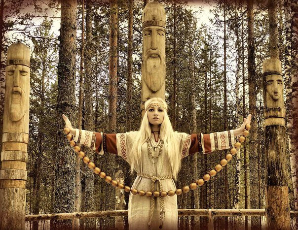 Often Slavic pagan beliefs are integrated into Russian propaganda concepts  Photo: liveinternet.ru