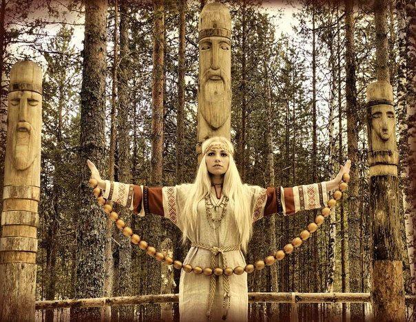 Often Slavic pagan beliefs are integrated into Russian propaganda concepts Photo: liveinternet.ru