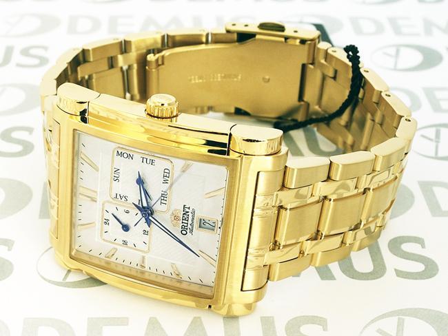 Lựa chọn đồng hồ mặt vuông Orient FETAC001W0 chất lượng tại Galle Watch