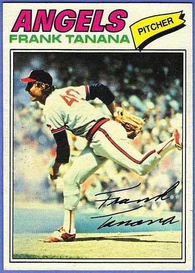 Angels Pitcher Frank Tanana