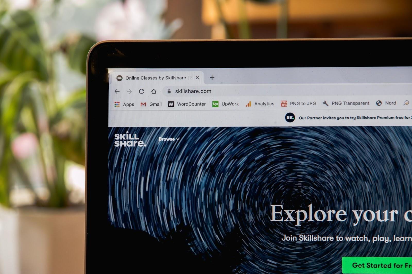 Skillshare Online Learning Platform