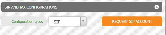 Zoiper interface SIP sip account settings