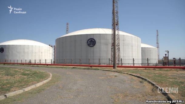 Сховища аміаку на «Одеському припортовому заводі»