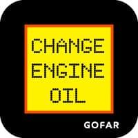 thay dầu nhắc nhở biểu tượng an toàn