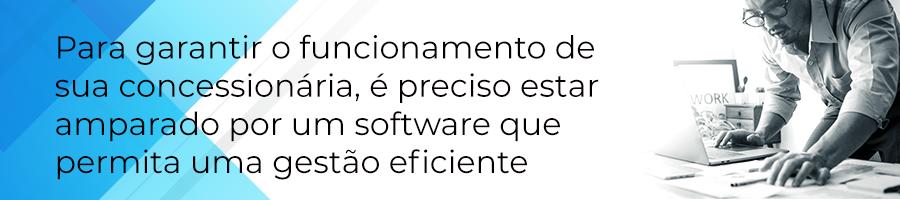 Para garantir o funcionamento de sua concessionária, é preciso estar amparado por um software que permite uma gestão eficiente