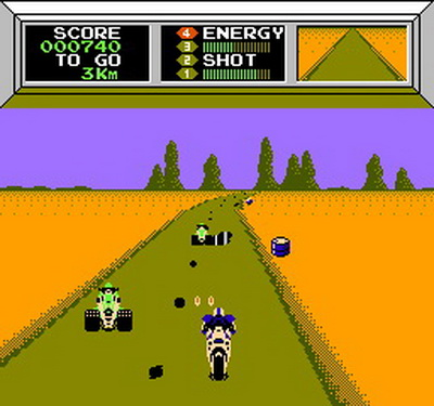 Image result for mach rider nes