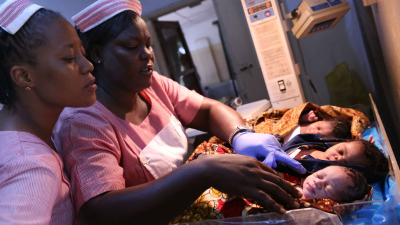 To deliver tech solutions in delivery rooms, donors look to distribution
