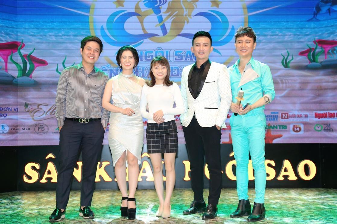"""Cao Tùng Huy ngồi ghế nóng BGK khách mời """"Ngôi Sao Tiếng Hát Đại Dương"""" mùa đầu tiên - Ảnh 6"""