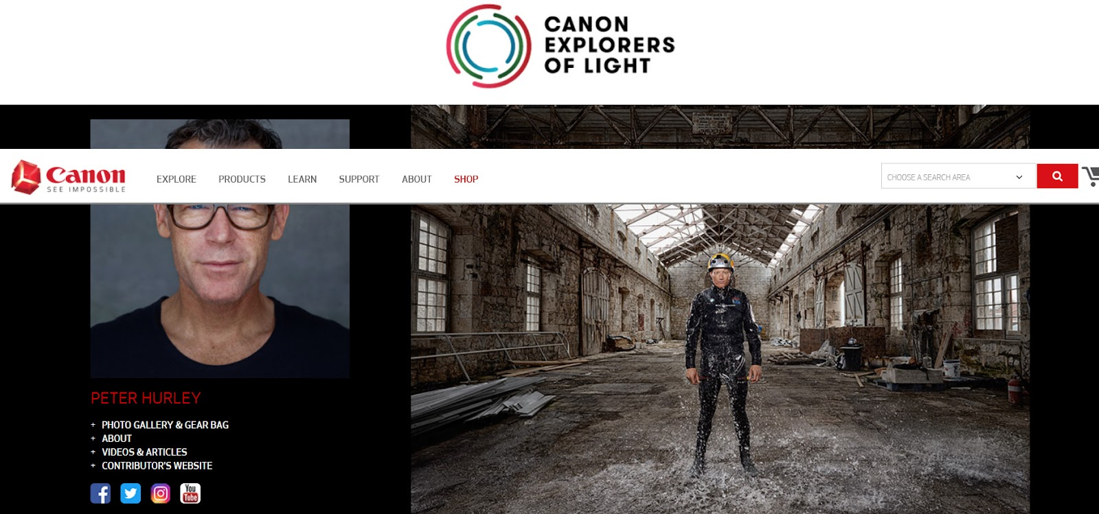Canon brand ambassador program