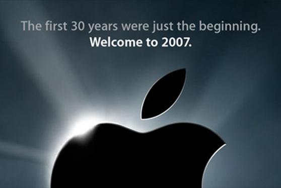 Apple Macworld 2007 image