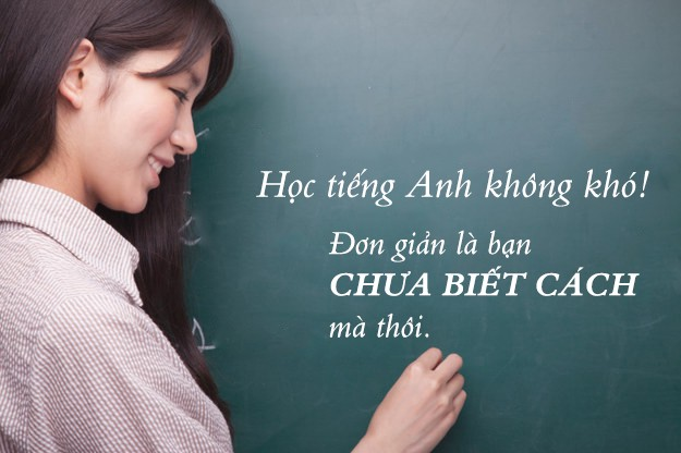 Cách học tiếng Anh cho người mất gốc
