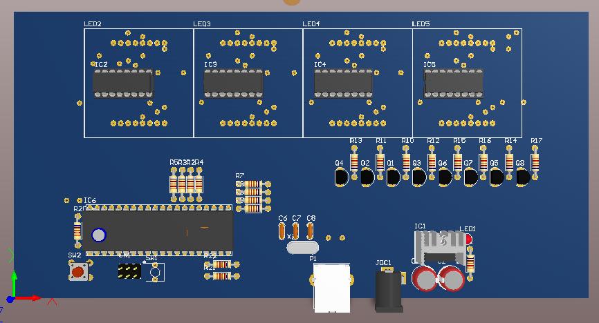 Mạch-led-Matrix-8x32-giao-tiếp-cổng-COM-với-máy-tính
