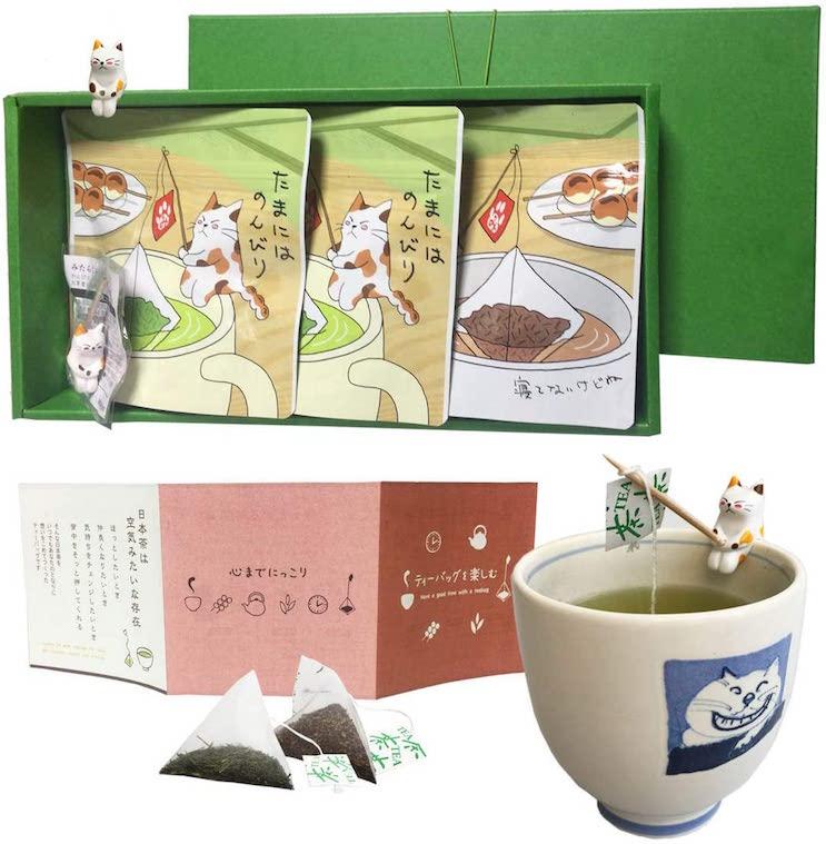 みのり園猫茶ティーバックセット