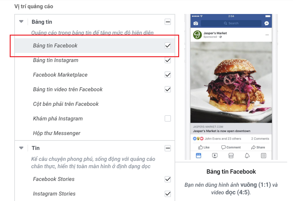 Bảng tin Facebook (Facebook News Feed)