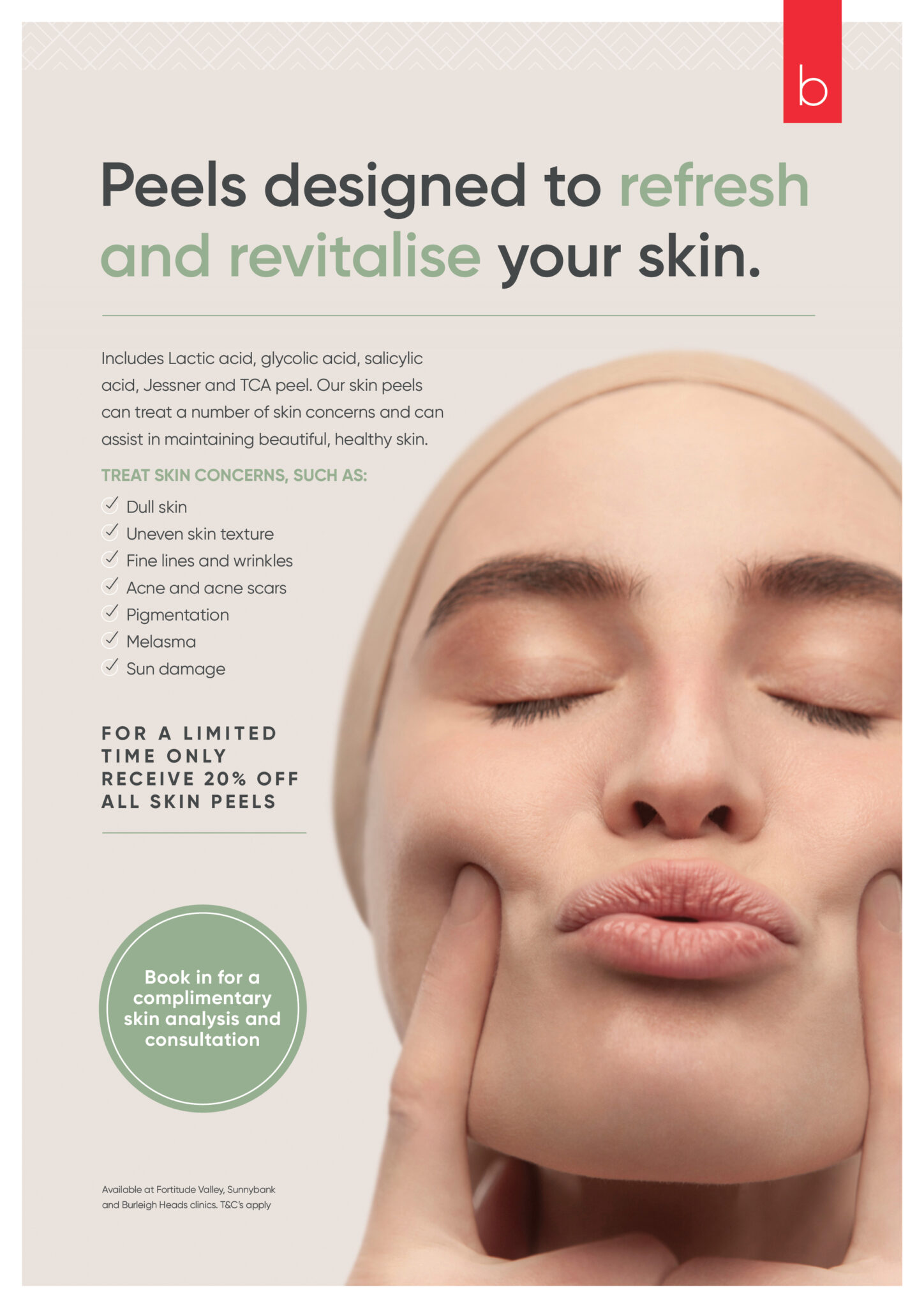 peels designed to refresh and revitalise your skin