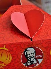 KFC Valentine's Day campaign