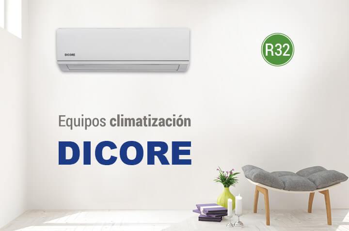 equipos aire acondicionado DICORE