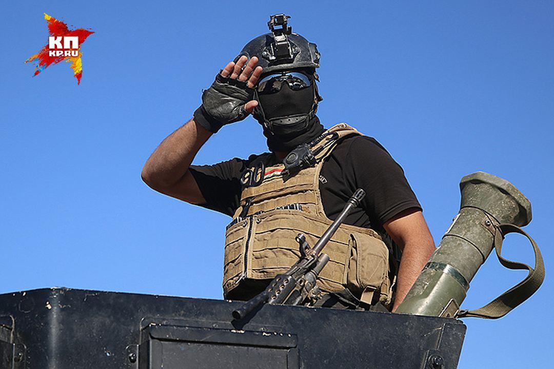 Подразделения, штурмующие Мосул, обучались американцами, турками и иранцами. Фото: Александр КОЦ, Дмитрий СТЕШИН