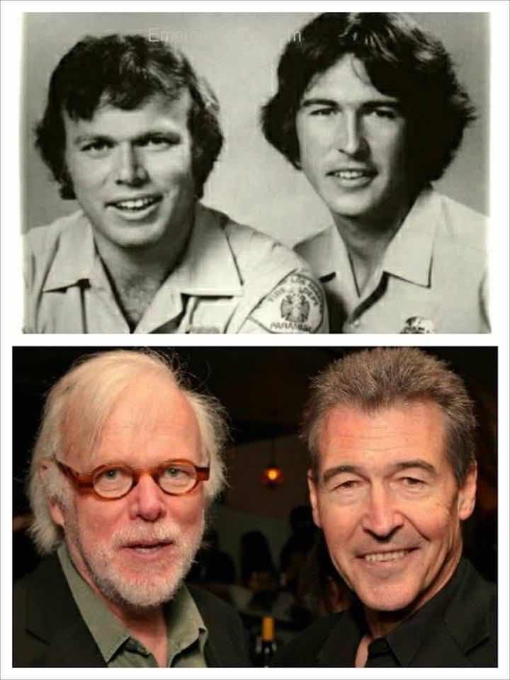 Roy DeSoto (played by Kevin Tighe) and Johnny Gage (played by Randolph Mantooth)