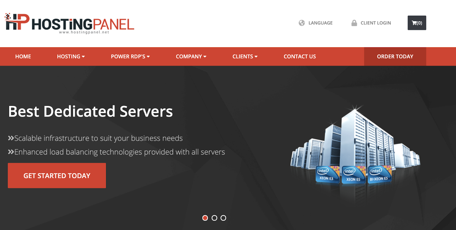 HostingPANEL Remote Desktop Hosting