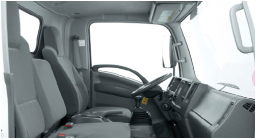 nội thất xe tải Isuzu 2t2