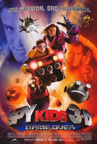Sylvester Stallone, Spy Kids 3-D: Game Over