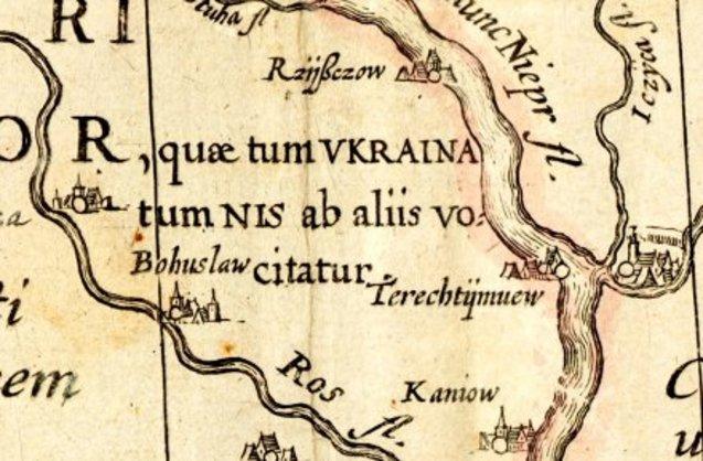 карта українські землі Київська русь