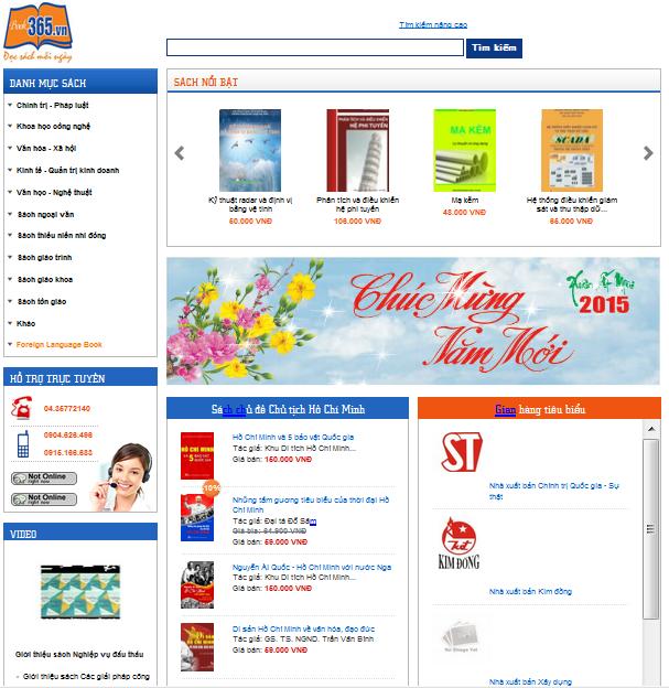 trang chu book365.vn