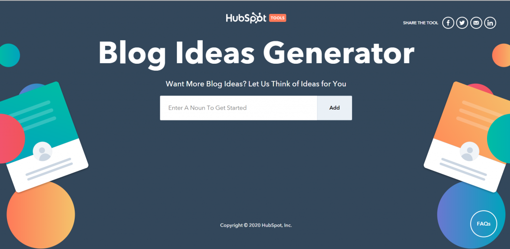 blogging tools hubspot