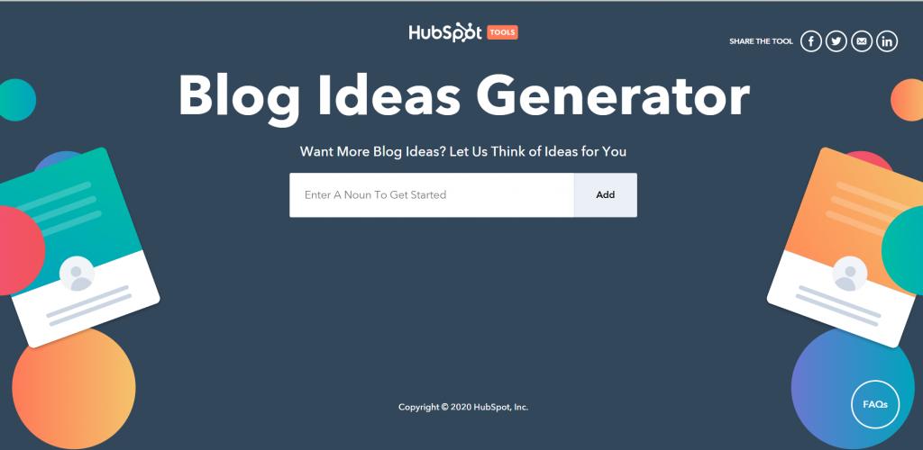 blogging tools hubspot